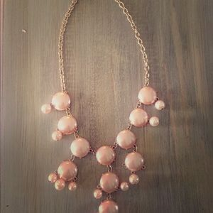 Rose gold bible statement necklace